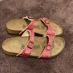 Birkenstock sandals size L8 (39)
